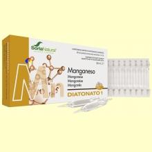 Diatonato 1 Manganeso - 28 ampollas - Soria Natural
