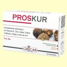 Proskur - Ayuda para la próstata - 30 comprimidos - Gricar