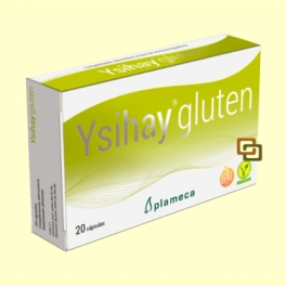 Ysihay Gluten - Intolerancia Gluten - 20 cápsulas - Plameca