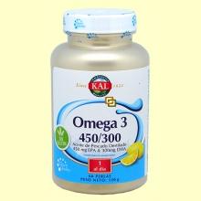 Omega 3 450/300 - 60 perlas - Laboratorios Kal