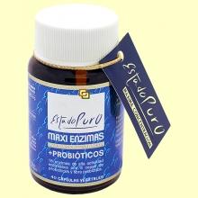 Maxi Enzimas con Probióticos - 40 cápsulas vegetales - Tongil