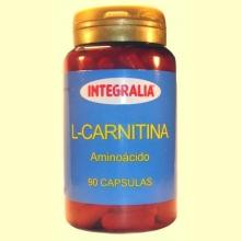 L-Carnitina - Aminoácido - 90 cápsulas - Integralia
