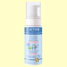 Espuma Limpiadora Bebé Bio - Cabello y Cuerpo - 150 ml - Cattier