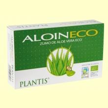 Aloin - Zumo de Aloe Vera - 20 ampollas - Artesanía Agricola