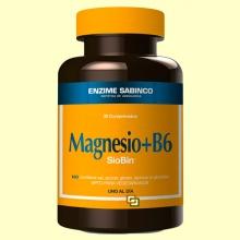 Siobin - Magnesio + B6 - 30 comprimidos - Enzime Sabinco