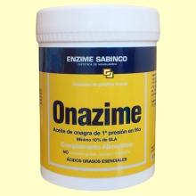 Onazime - Aceite de Onagra - 180 perlas - Enzime Sabinco