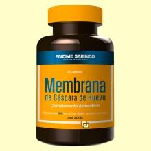 Membrana de Cáscara de Huevo - 30 cápsulas - Enzime Sabinco