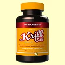 Krill Oil 500 mg - Omega-3 - 60 cápsulas - Enzime Sabinco