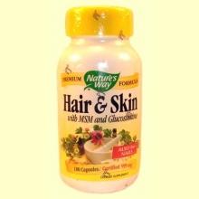 Hair & Skin - Nature's way - 100 cápsulas