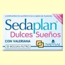 Sedaplan Infusión con Valeriana - 20 bolsas-filtro - Natysal