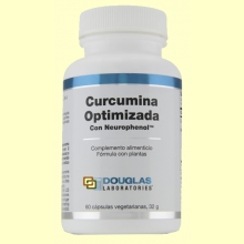 Curcumina Optimizada con Neurophenol - 60 cápsulas - Douglas