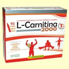 L-Carnitina 2000 - 15 viales - Pinisan Laboratorios