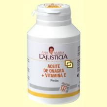 Aceite de Onagra + Vitamina E - 275 Perlas - Ana María Lajusticia