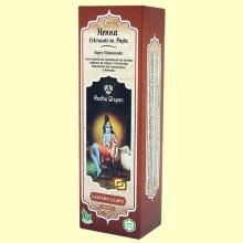 Henna Castaño Claro Pasta - 200 ml - Radhe Shyam