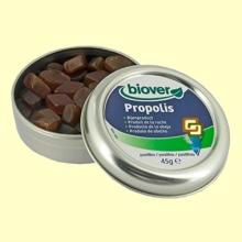 Pastillas Própolis - 45 gramos - Biover *