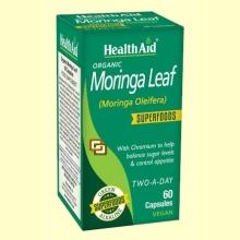 Moringa Leaf - 60 cápsulas - Health Aid