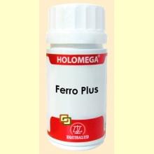 Holomega Ferro Plus - 50 capsulas - Equisalud
