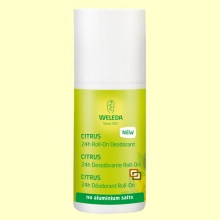 Desodorante Roll-on de Citrus - 50 ml - Weleda