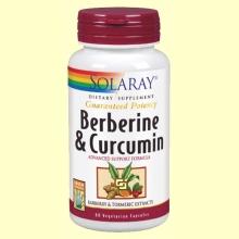 Berberina y Curcumina - 60 cápsulas - Solaray