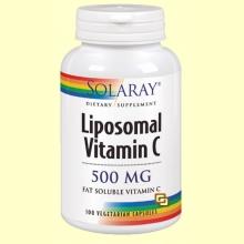Liposomal Vitamina C - 100 cápsulas - Solaray