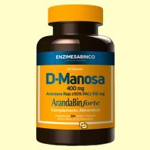D-Manosa + Arándano Rojo (Arandabin Forte) - 60 cápsulas - Enzime Sabinco