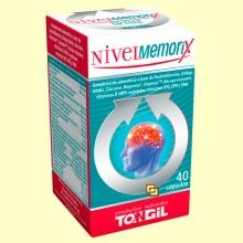 Nivel Memorix - Memoria - 40 cápsulas - Tongil