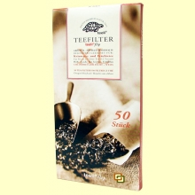 Filtros de Té Extra Finos - 50 filtros tamaño XL - Teeli