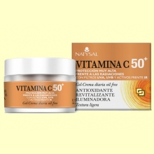 Gel Crema Diaria Vitamina C 50+ - 50 ml - Natysal