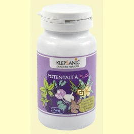 Potentalt A Plus - Tónico y Revitalizante Sexual - Klepsanic - 60 cápsulas
