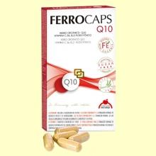 Ferrocaps Q10 - Hierro orgánico - 60 cápsulas - Intersa