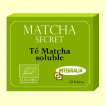 Matcha Secret - Té Matcha Soluble - 20 sobres - Integralia