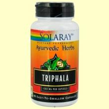 Triphala - 90 cápsulas - Solaray