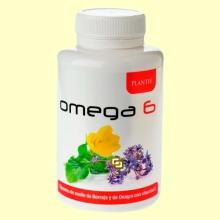 Omega 6 - Aceite de Onagra y Borraja con Vitamina E - 100 cápsulas - Plantis