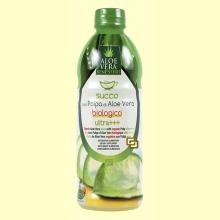 Zumo Aloe Vera Con Pulpa Bio - 500 ml - Herbofarm