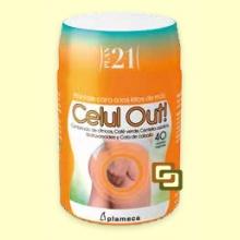 Celul Out! - Plan 21 - Anticelulítico - 40 cápsulas - Plameca *