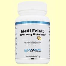 Metil Folato 1000 MCG - 30 cápsulas - Laboratorios Douglas