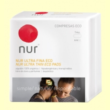 Compresa Ultrafina Eco - 14 unidades - Nur
