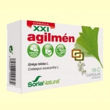 18-C Agilmén XXI - 30 cápsulas - Soria Natural