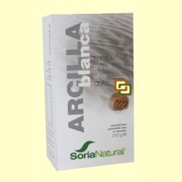 Arcilla Blanca - 250 gramos - Soria Natural