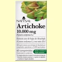 Artichoke 10.000 mg - Hepatoprotector - 60 comprimidos - Natysal