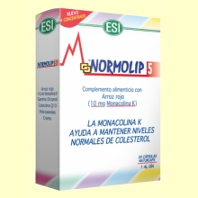 Normolip 5 - Laboratorios ESI - 30 cápsulas