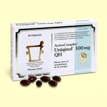 ActiveComplex Uniqinol 100mg QH - Coenzima Q-10 - 60 comprimidos - Pharma Nord