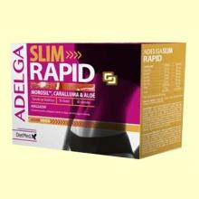 Adelga Slim Rapid - 60 cápsulas - Dietmed