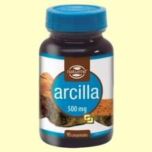 Arcilla 500 mg - 90 comprimidos - Naturmil