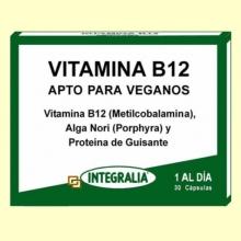 Vitamina B12 - Integralia - 30 cápsulas