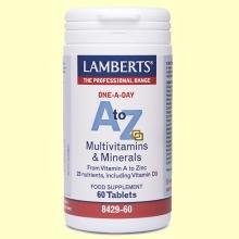 A-Z Multi - 60 tabletas - Lamberts