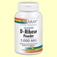 D-Ribose 5000 mg - 150 gramos - Solaray