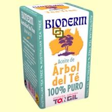 Tea Tree Bioderm Aceite Esencial Árbol del Té - 15 ml - Tongil