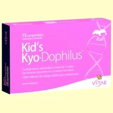 Kid's Kyo Dophilus - 15 comprimidos - Vitae