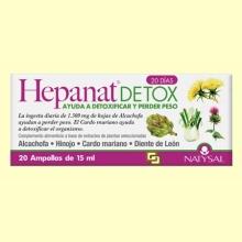 Hepanat Detox - Control de Peso - 20 ampollas - Natysal